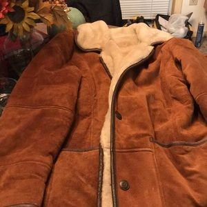 Suede coat very warm